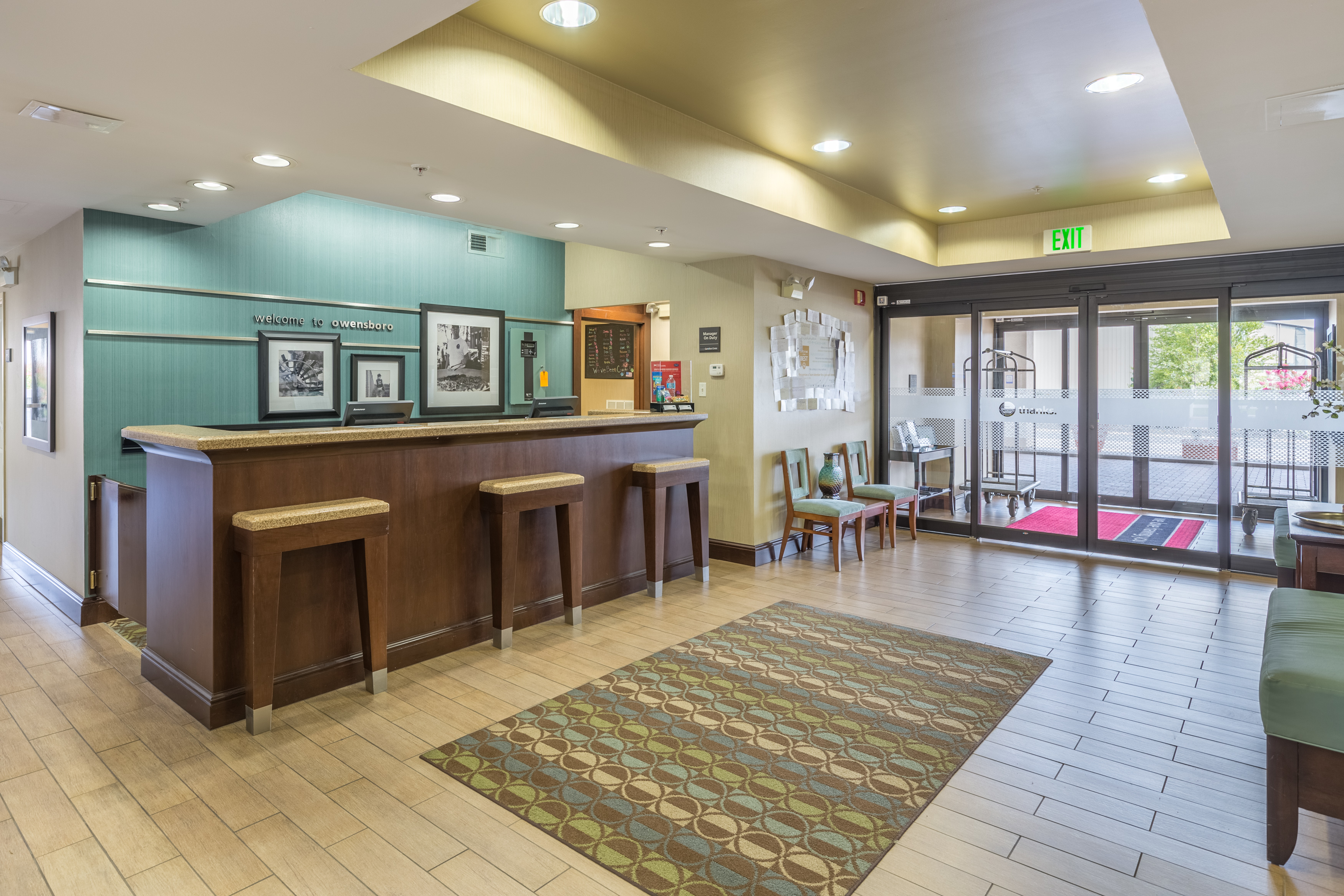 hampton inn by hilton owensboro south in owensboro ky. Black Bedroom Furniture Sets. Home Design Ideas