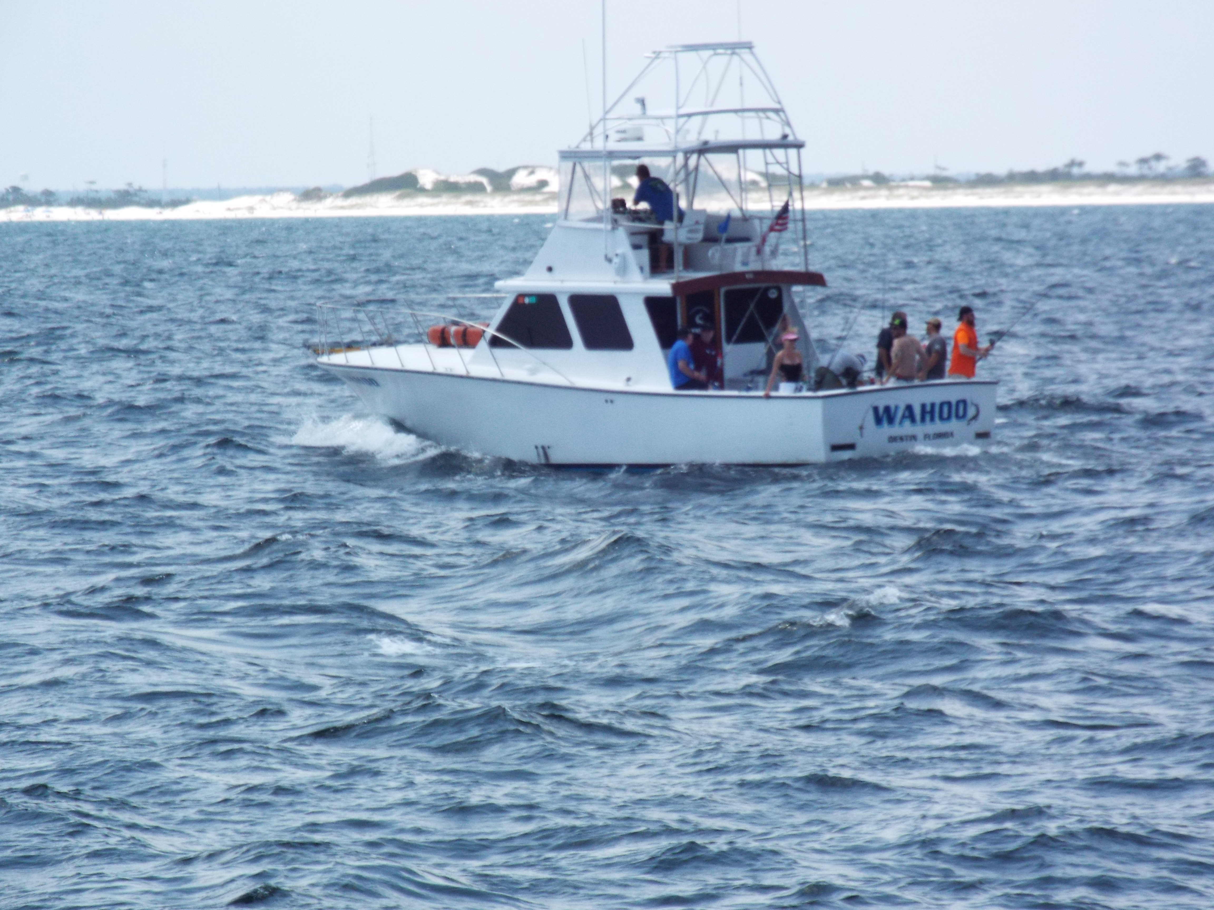 Cutting edge charters inc charter boat cutting edge and for Charter fishing destin