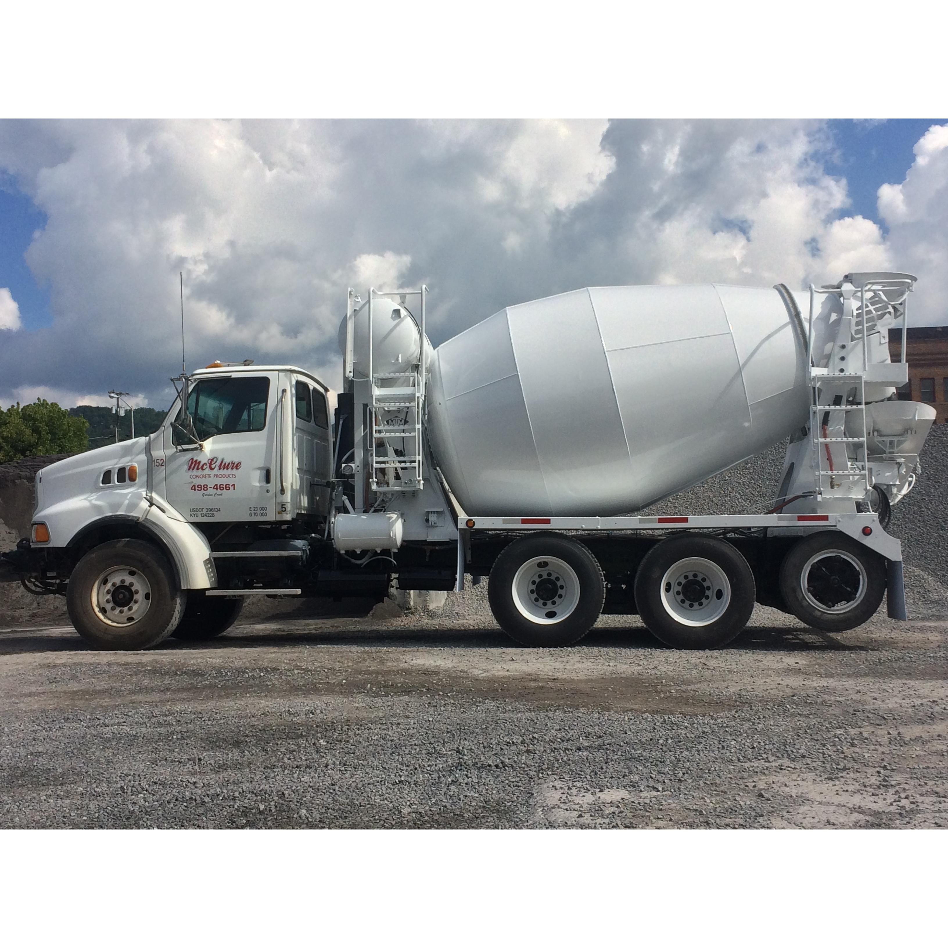 Mcclure Concrete Products Inc