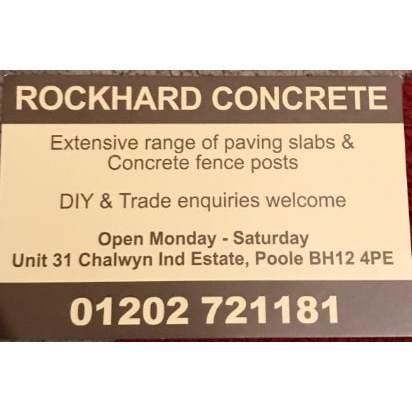 Rockhard Concrete Products - Poole, Dorset BH12 4PE - 07901 511535 | ShowMeLocal.com