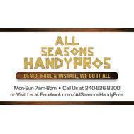 All Seasons Handypros - Rocky Ridge, MD 21778 - (240)626-8300 | ShowMeLocal.com