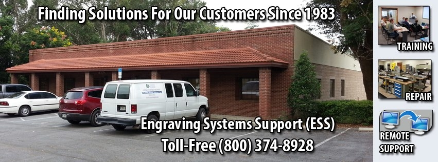 Engraving Systems Support - ad image
