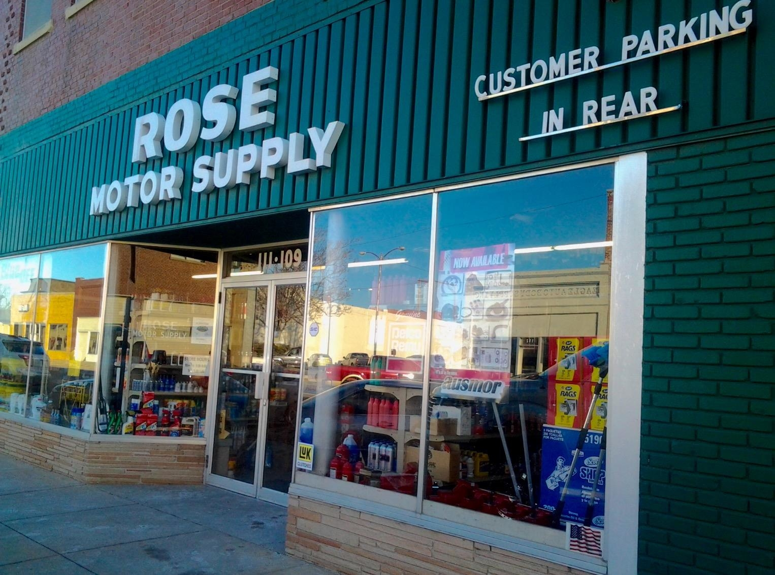 Rose Motor Supply Coupons Near Me In Hutchinson 8coupons