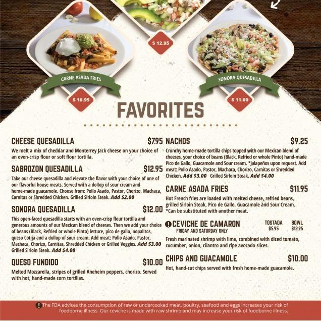 Sabrozon Fresh Mexican Restaurant & Catering