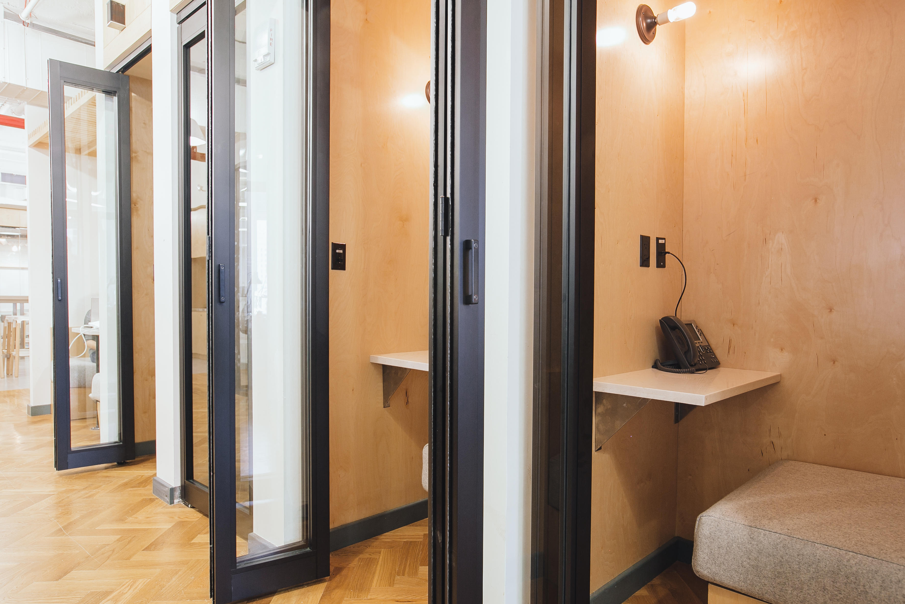 Example shown: Phone Booth (City Hall, New York City) WeWork 33 Queen St London 020 3695 7895