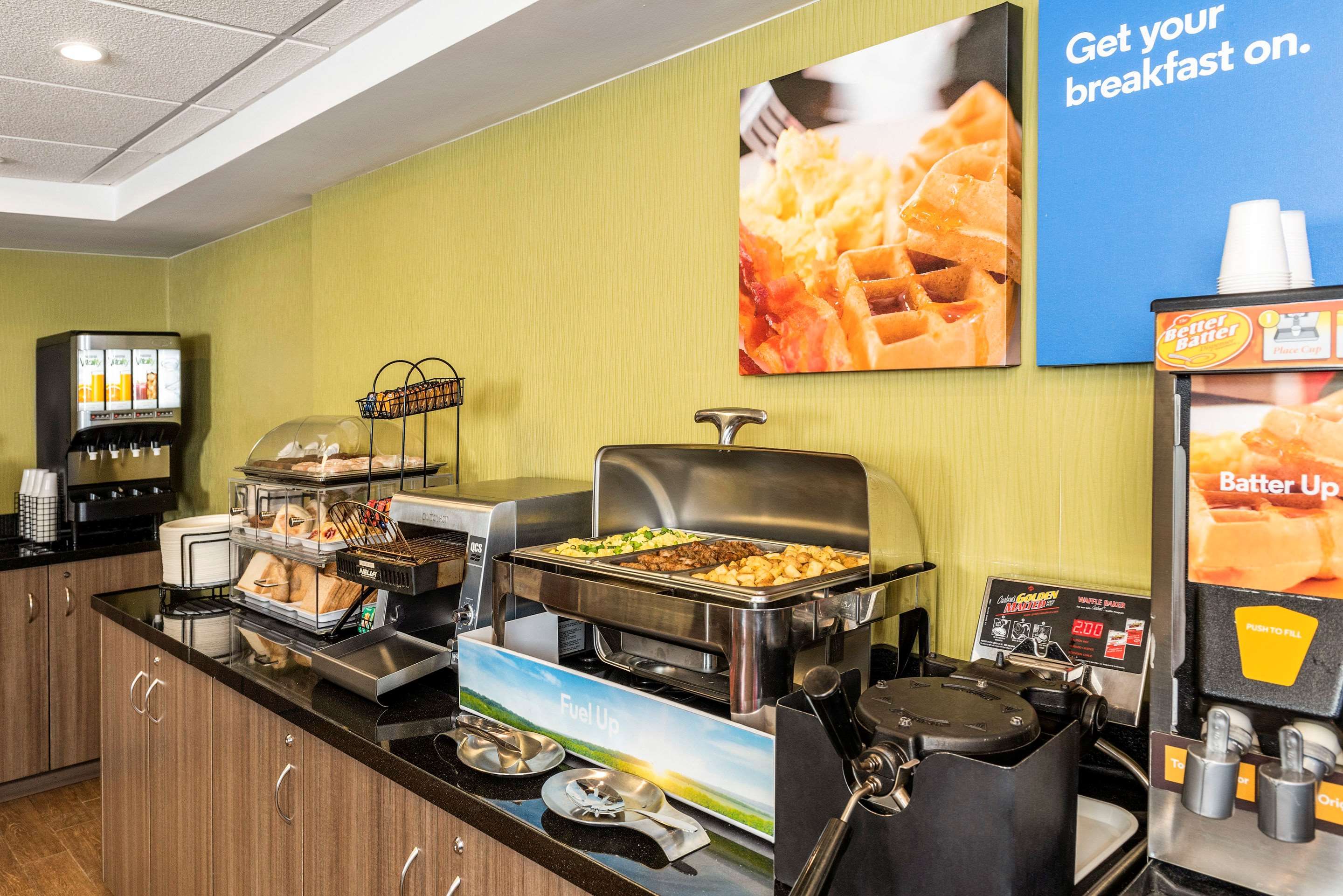 Comfort Inn in Saskatoon: Great Selection of Breakfast Options