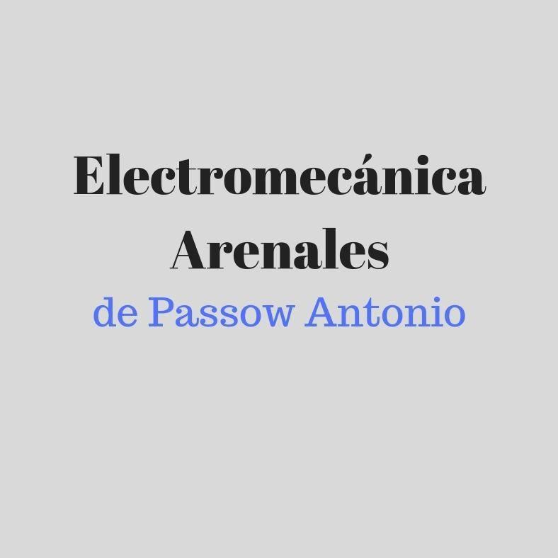 ELECTROMECANICA ARENALES DE PASSOW ANTONIO