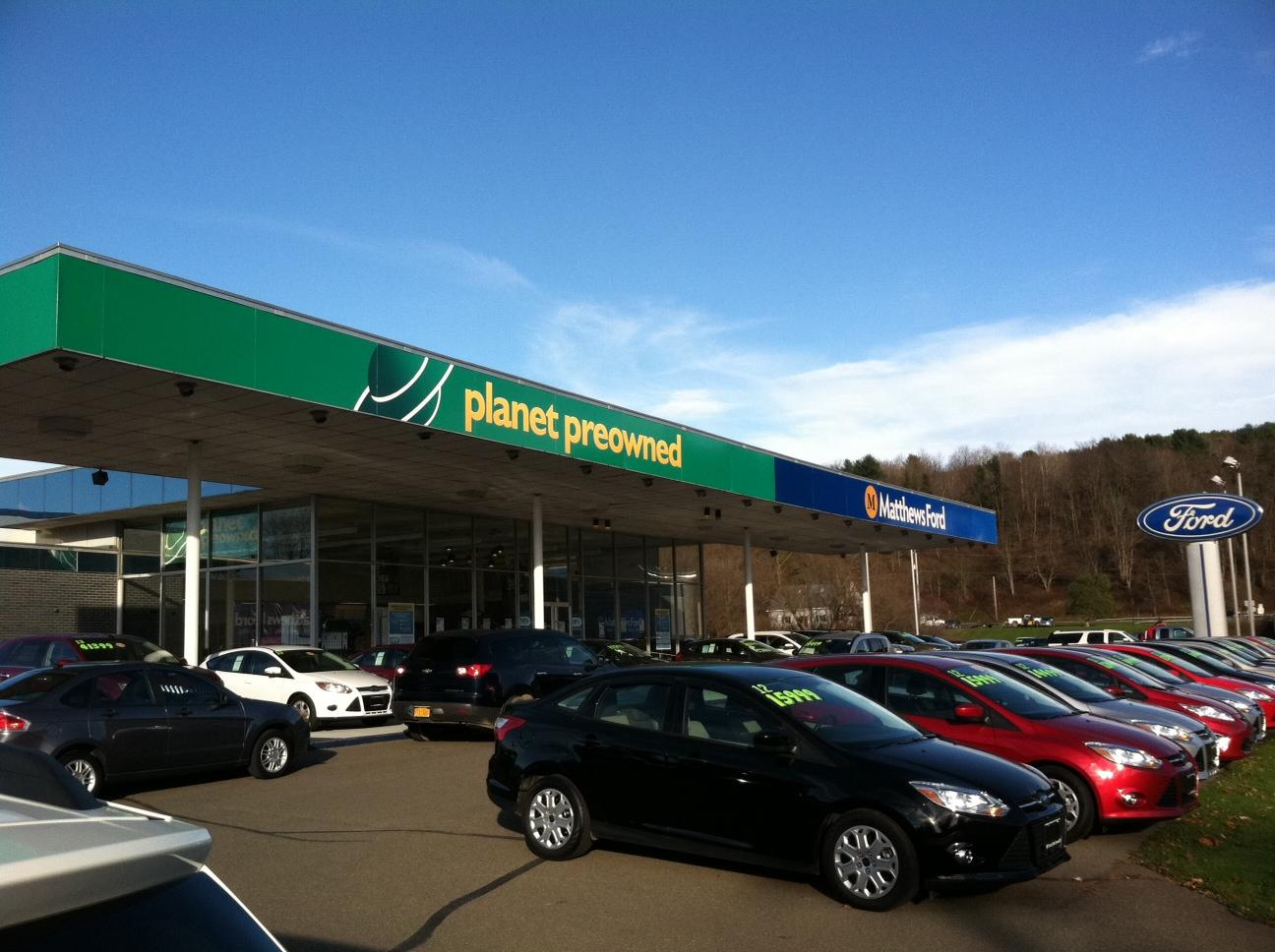 Norwich Ny Matthews Ford Car Rental
