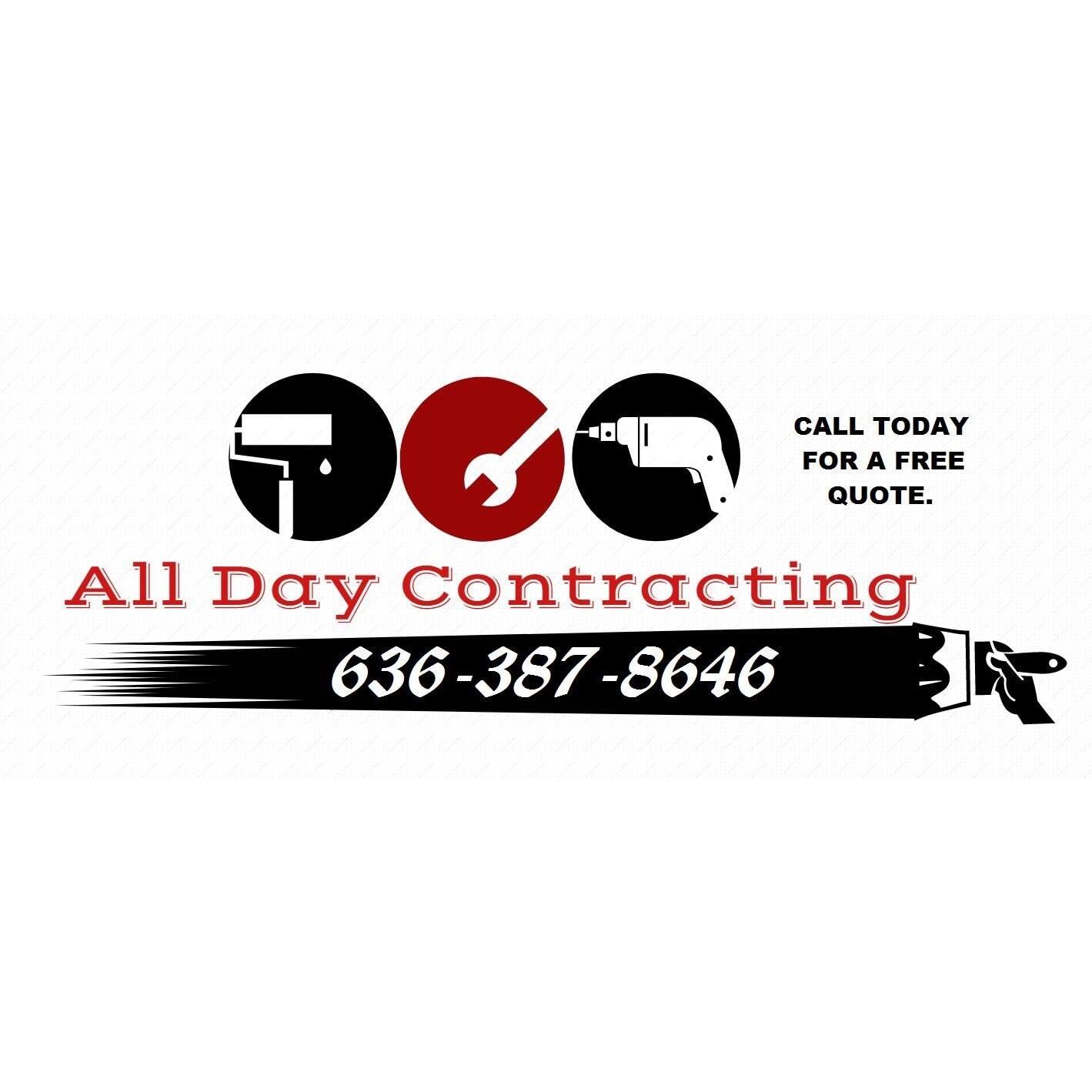 Painter in MO St. Charles 63301 All Day Contracting 130 Ameristar Blvd APT 310 (636)387-8646