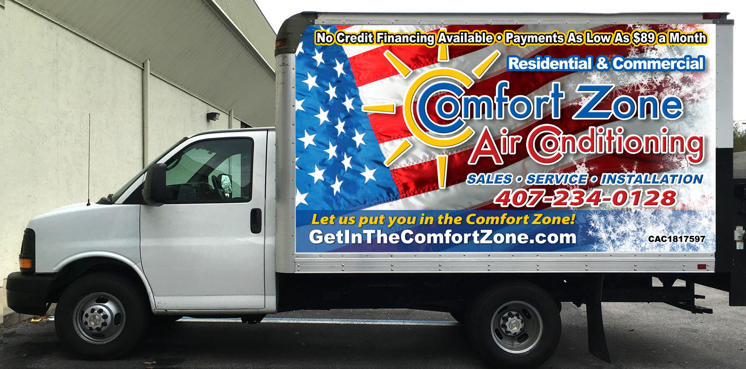 Comfort Zone Air Conditioning AH Corp