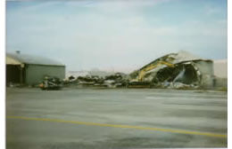 Removal Of Airplane Hangers – Tulsa, Oklahoma