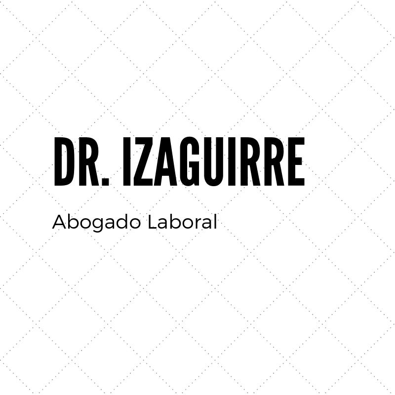 Dr. Izaguirre Lima