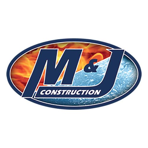 M & J Construction Logo