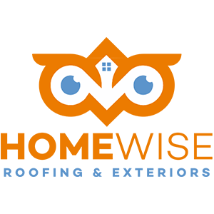 HomeWise Roofing & Exteriors Logo