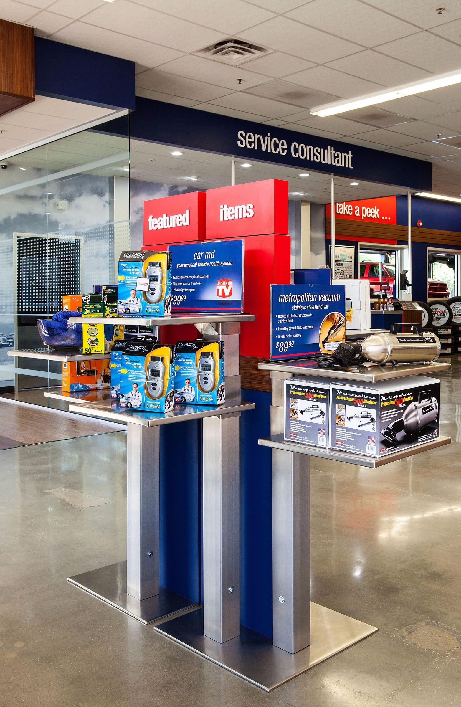 The Pep Boys and Auto Plus distribution centers are vital to supporting the stores and customers, and when you join the distribution or logistics teams you'll be introduced to the procedures and systems that keep the DCs running smoothly.