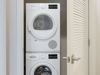 In-Suite Washer and Dryer
