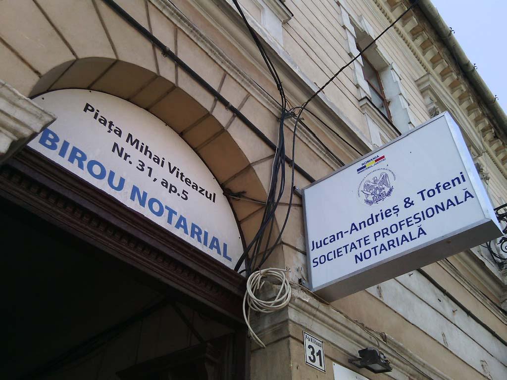 JUCAN-ANDRIEŞ&TOFENI, SOCIETATE PROFESIONALĂ NOTARIALĂ