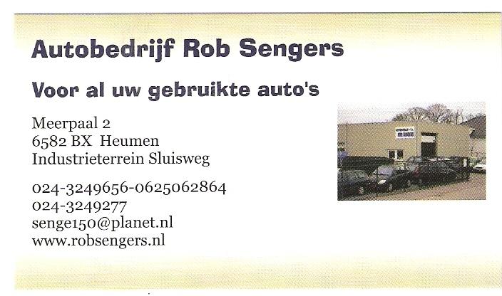 Autobedrijf Rob Sengers