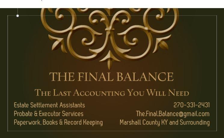 Final Balance