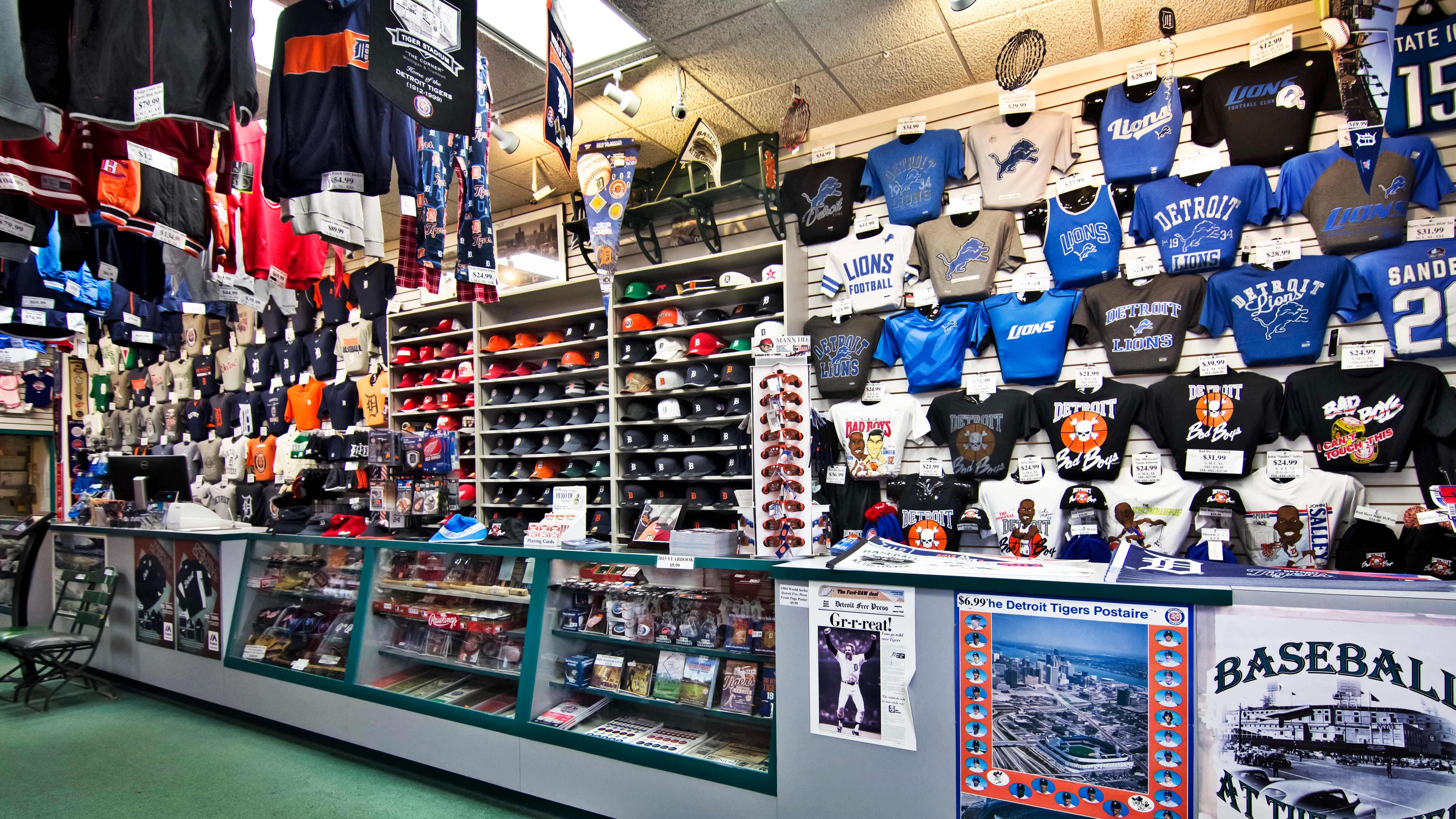 Detroit Athletic Co., Detroit Michigan (MI ...