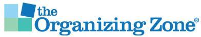 The Organizing Zone - Professional Organizer