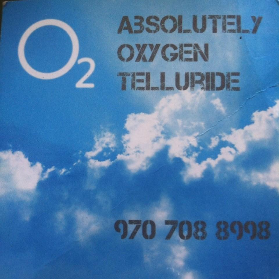 Absolutely Oxygen Telluride - Telluride, CO - Medical Supplies