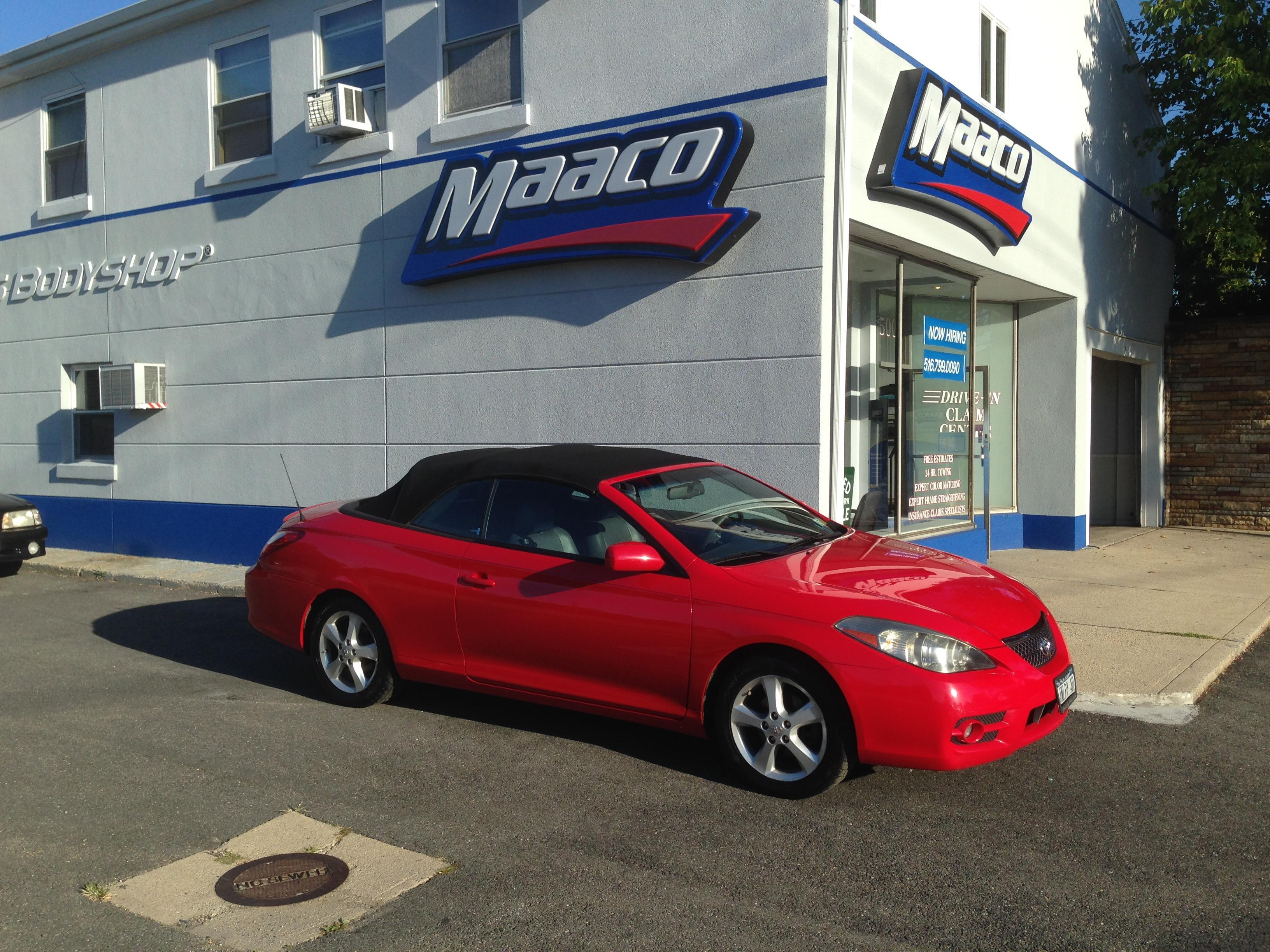 Maaco collision repair auto painting massapequa new for Maaco paint reviews