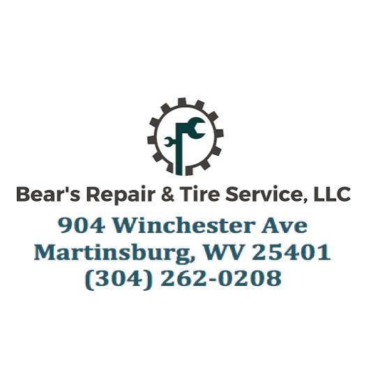 Bear S Repair Amp Tire Service Llc Martinsburg West