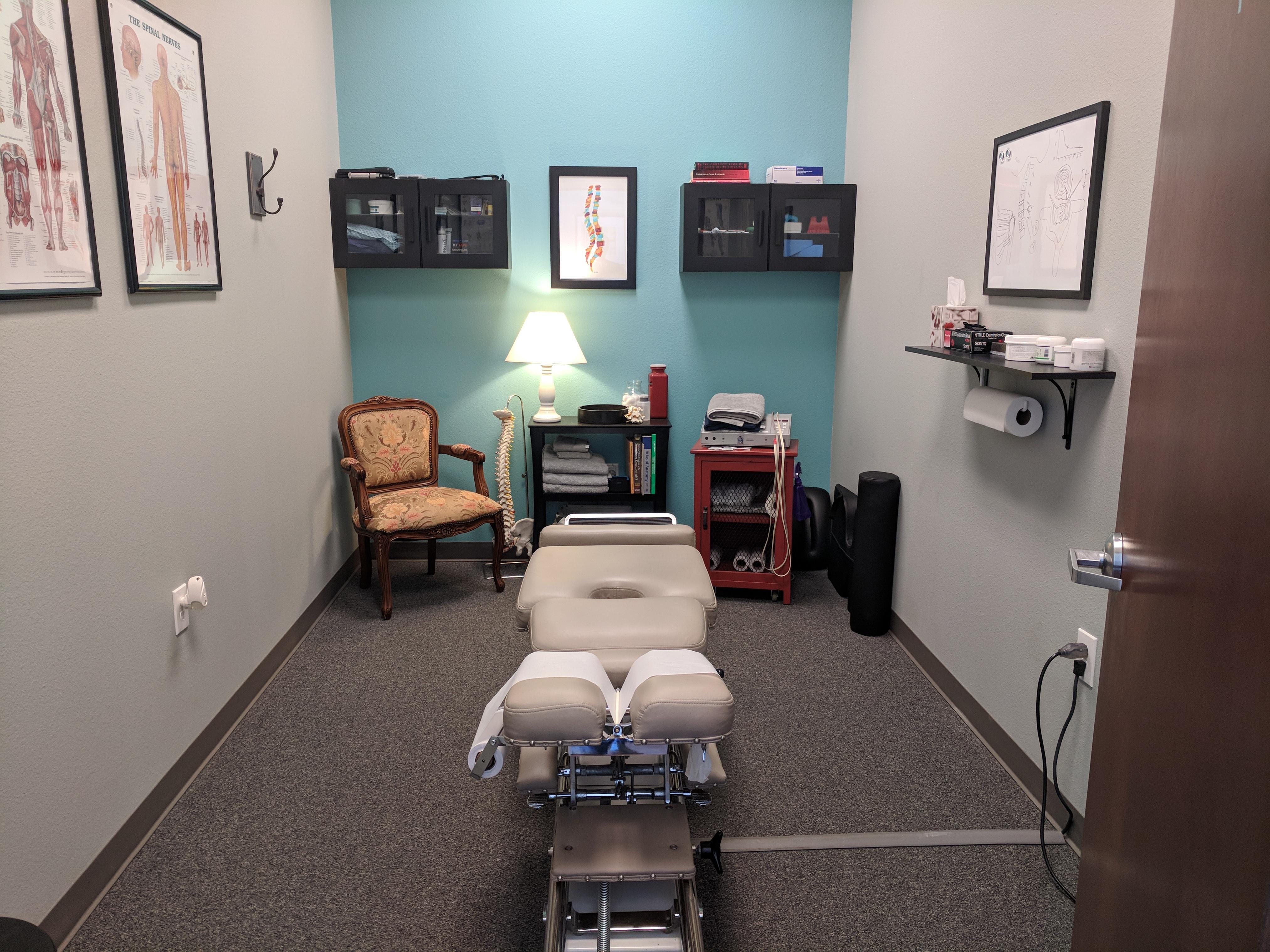 Adjusting Room at Normal Chiropractic