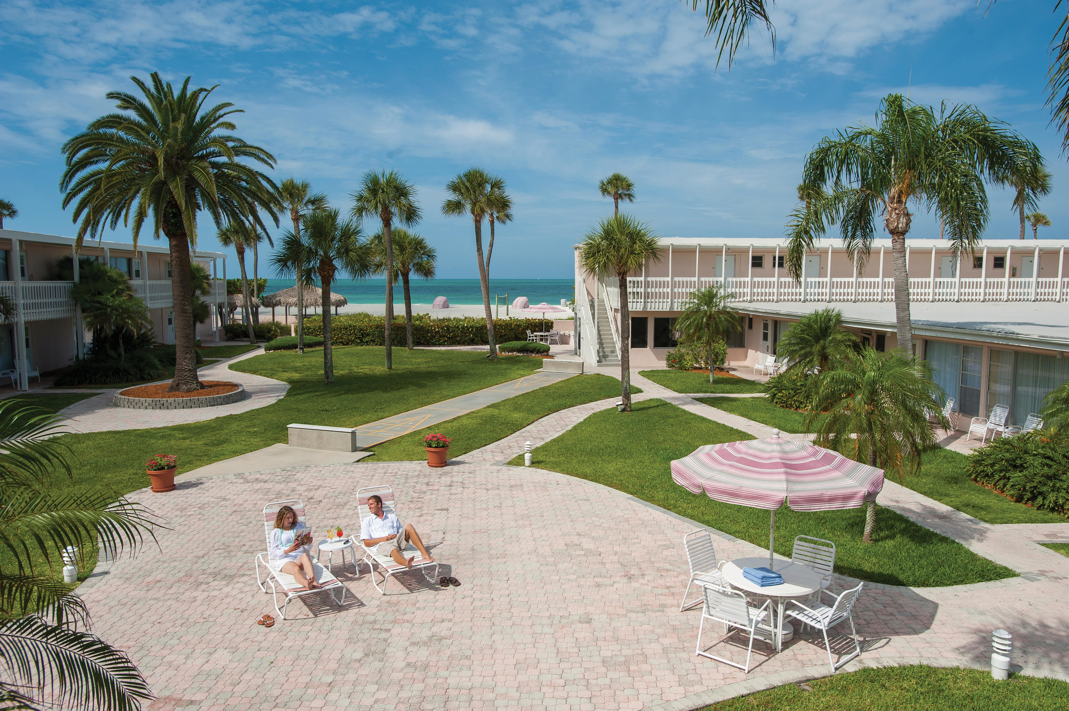 Sandcastle Resort at Lido Beach Sarasota Florida FL