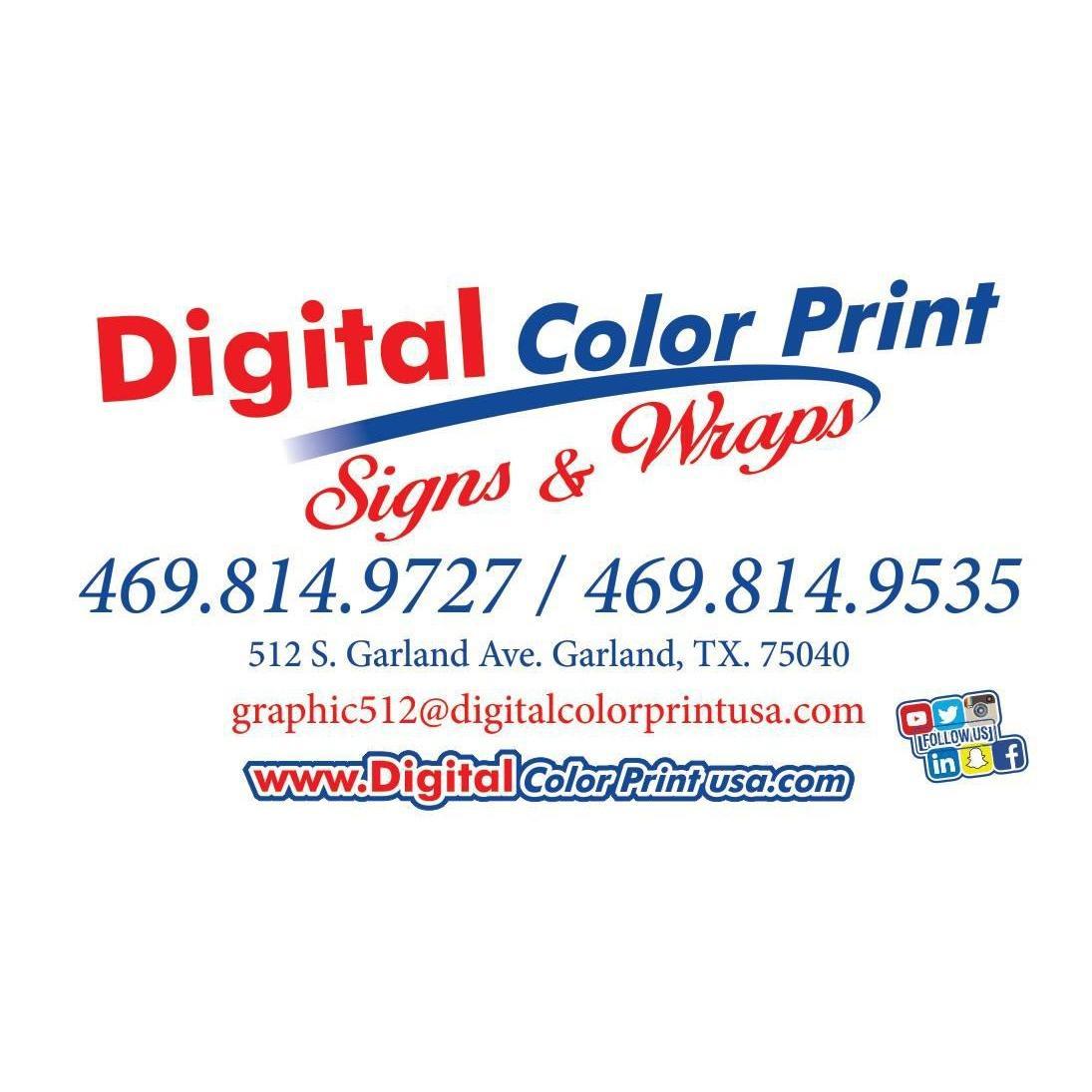 DCP Signs & Wrap / Digital Color Print
