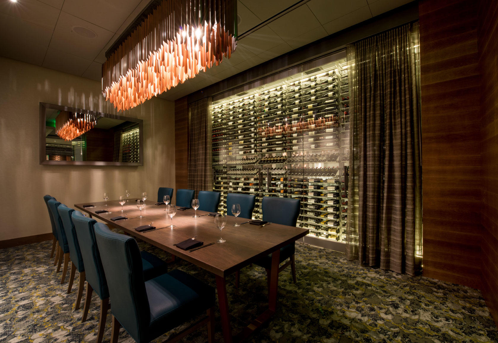 Del Frisco's Double Eagle Steakhouse Boston Commonwealth Room private dining room
