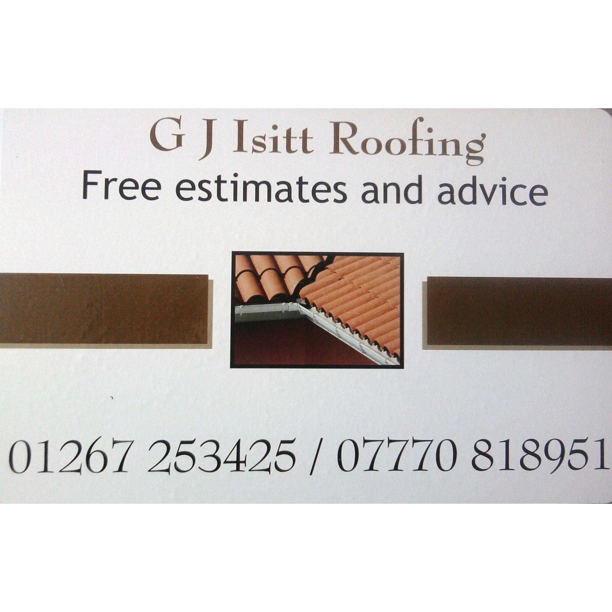 G J Isitt & Son Roofing - Carmarthen, Dyfed SA33 6HN - 01267 253425 | ShowMeLocal.com