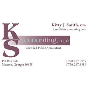 KS Accounting LLC - Monroe, GA 30655 - (770)207-0019 | ShowMeLocal.com