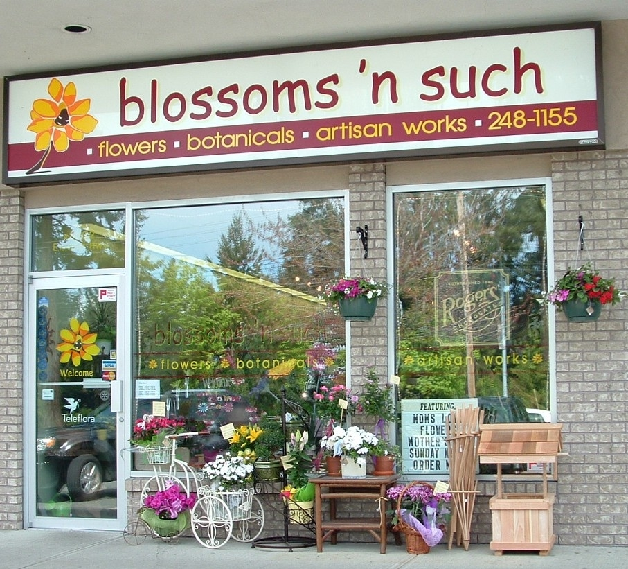 Blossoms 'n Such in Parksville