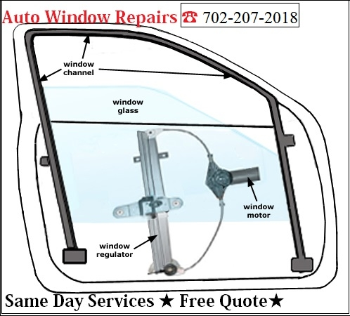 power window repairs Auto Glass Services & Power Window Repairs Las Vegas (702)207-2018