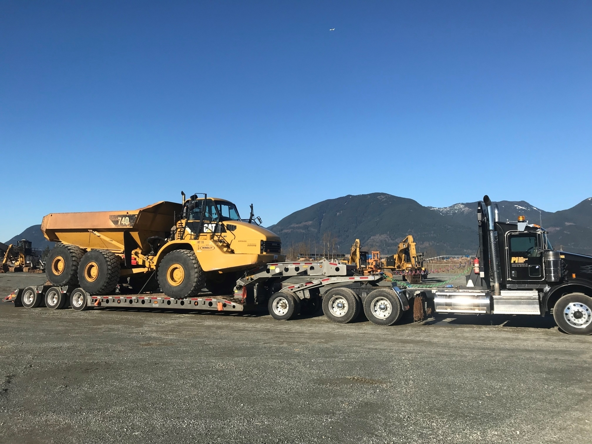 Pacific International Log Trading Inc in Delta