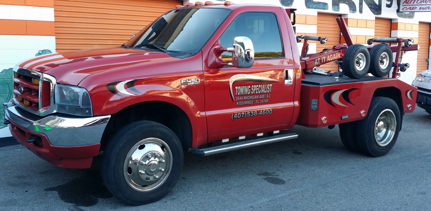 Orlando Towing Specialist Kissimmee Florida Fl