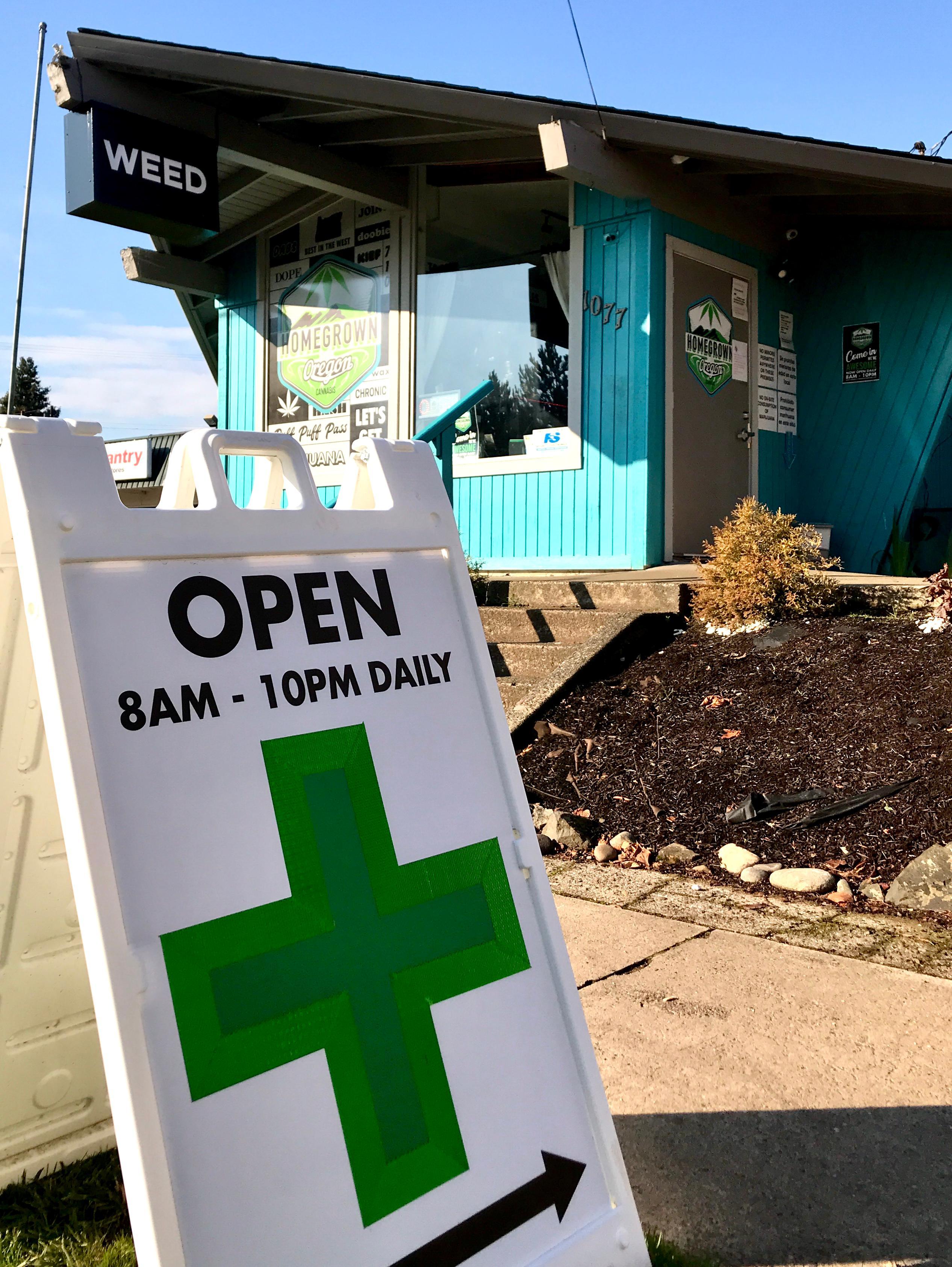 Homegrown Oregon Recreational & Medical Marijuana Dispensary West Salem