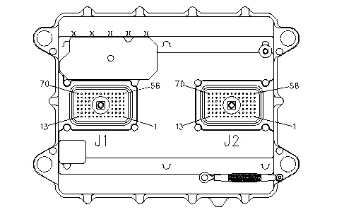 X on Cat 3126 Ecm Wiring Diagram 70 Pin