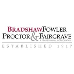 Bradshaw, Fowler, Proctor & Fairgrave, P.C. - Des Moines, IA - Attorneys