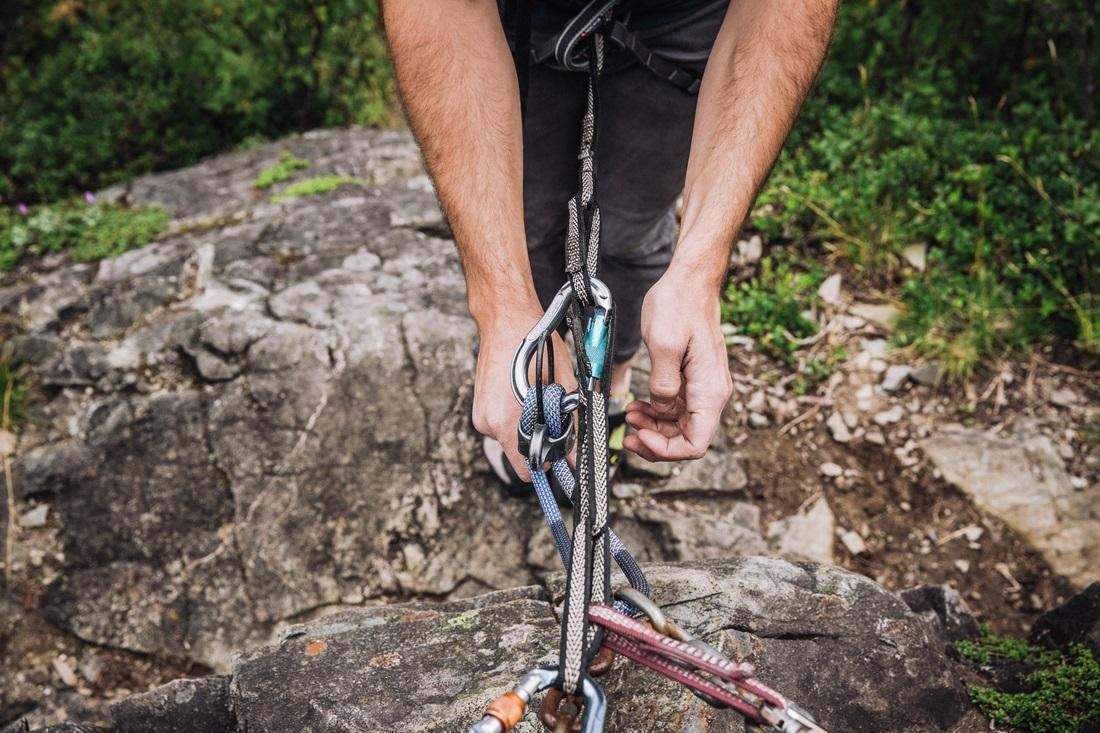 Rock Climbing Rescue Class
