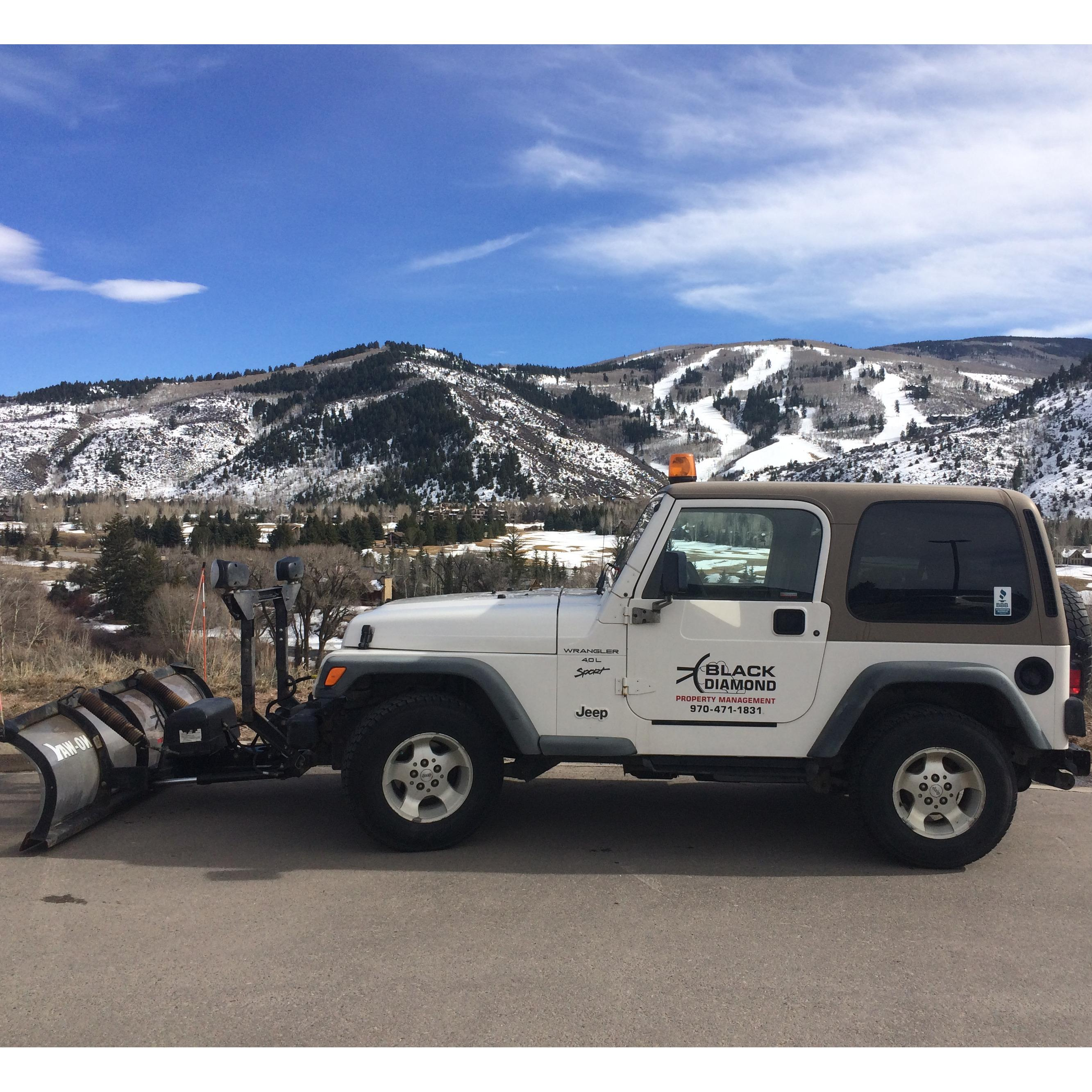 Black Diamond Property Management and Snowplowing - Avon, CO - Snow Removal