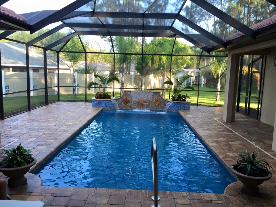 Agua construction company bunnell florida fl for Local pool contractors