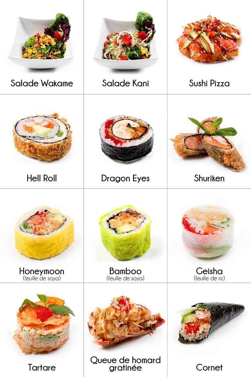 Sushi Express Notori à Mont-Saint-Hilaire