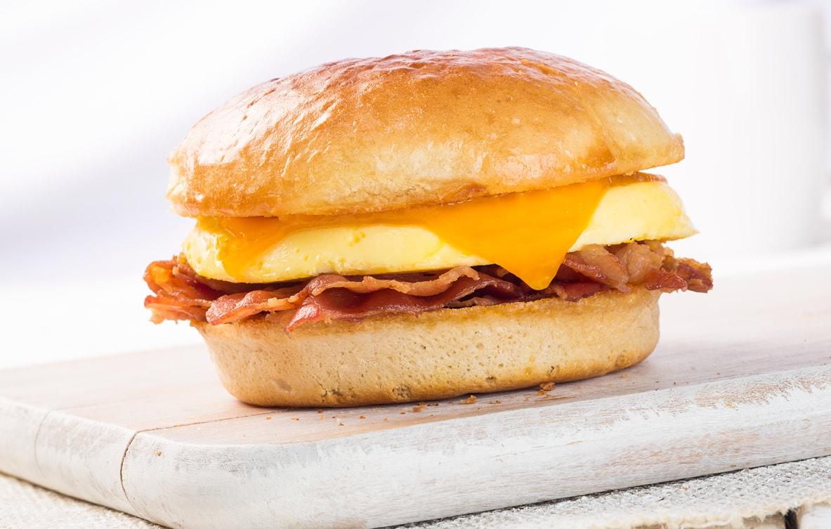 Bacon, Egg &  Cheddar