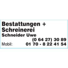 Bestattungen + Schreinerei Schneider Uwe
