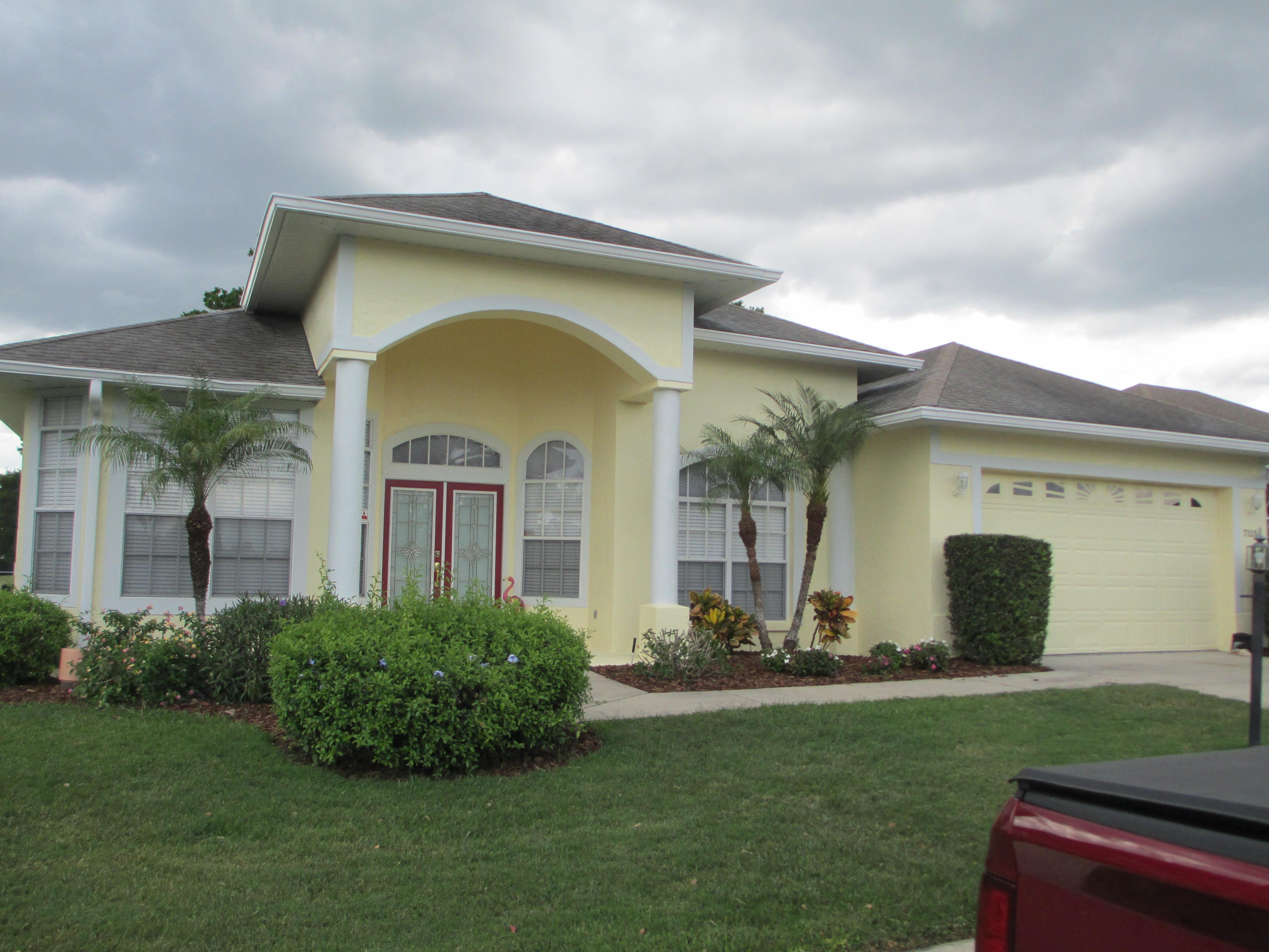 Stephen exterior painting pressure wa in lakeland fl for Florida home designs lakeland fl