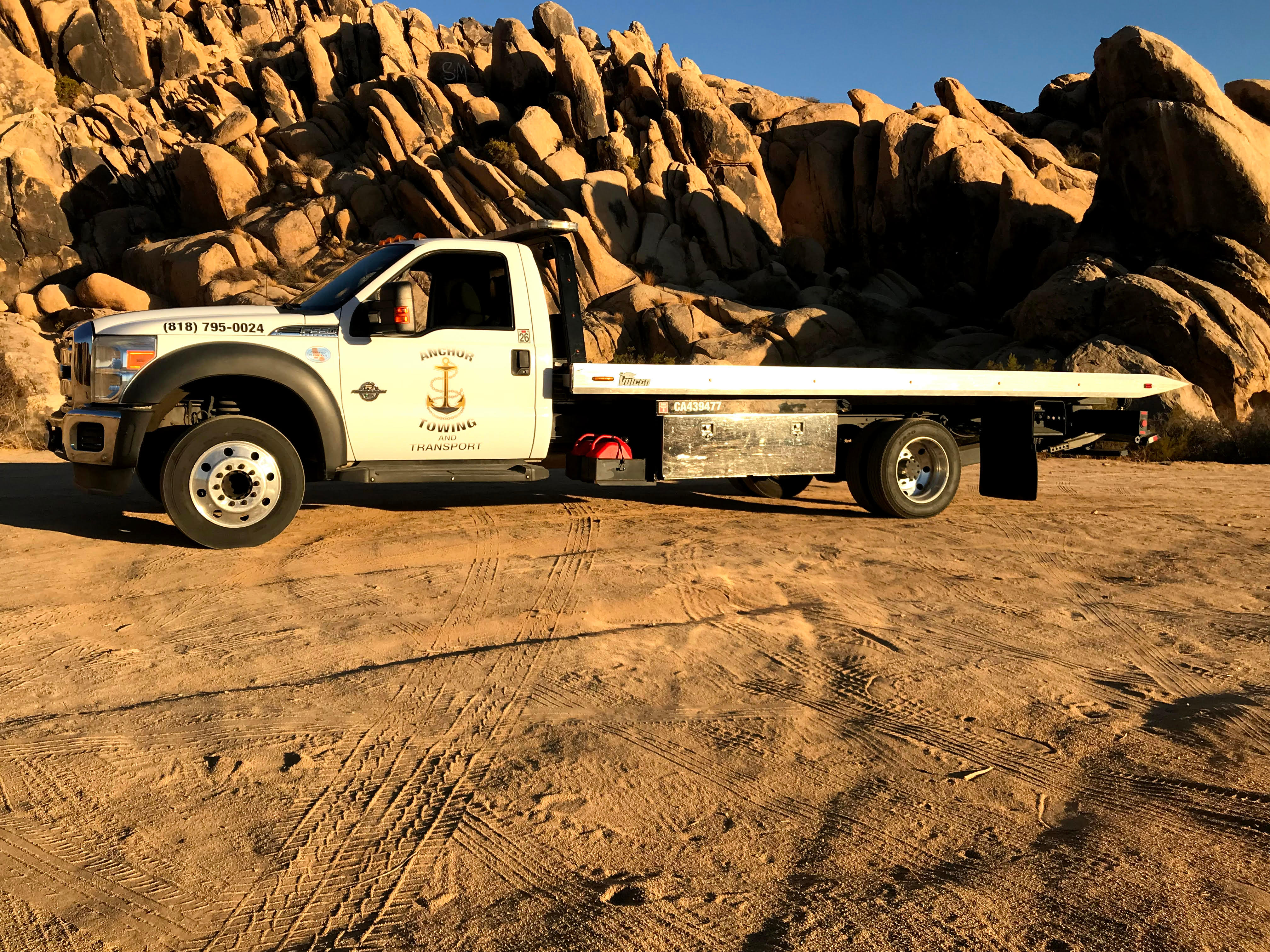 Anchor Towing And Transport, Apple Valley California (CA ...