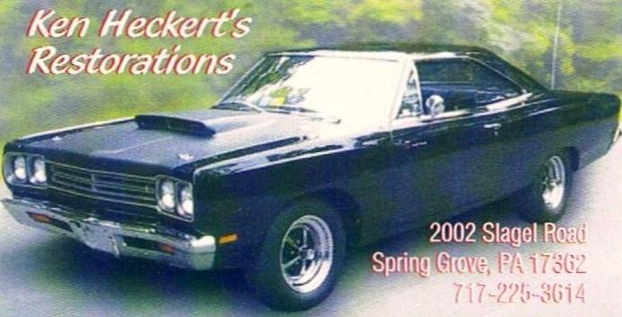 Ken Heckert's Restorations